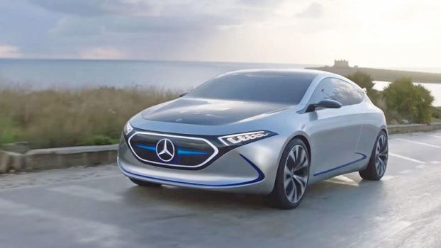 All-Electric EQA prototype announced by Mercedes by jessicaherron9