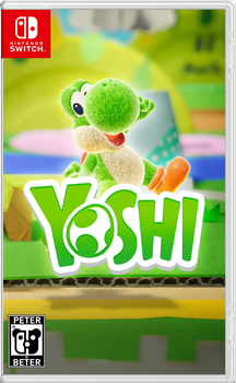 Yoshi Nintendo Switch Cover by PeterisBeter