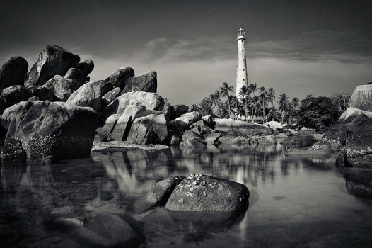 The Lighthouse by GregoriusSuhartoyo
