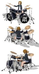 MMD Drum Double Beat Set Model by arisumatio