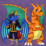 Request: DragonessBlue by TheLeatherDragonI