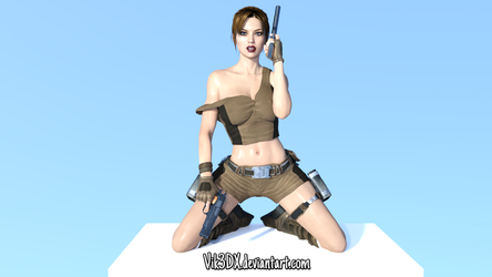Lara Croft 32 by Vik3DX