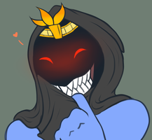 Abriika gives a Grin by zp92