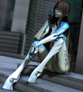 [MMD] Carbon Mina by Redoxygene