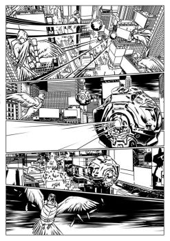 Carriers Comic Page by TFGuillen