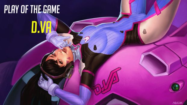 Play of the game: D.Va by Mavezar