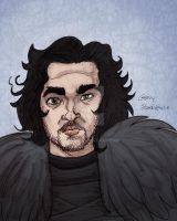 Jon Snow by Stnk13