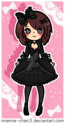 Gothic Lolita Kawaii Kelley by miemie-chan3