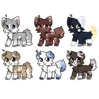 Adopt Batch #4 (1/6 OPEN) by svftboys