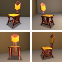 FLW peacockChair by Maiamimo