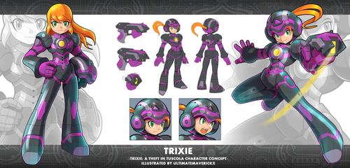 Trixie: A Theft in Tuscola: Trixie Concept by ultimatemaverickx