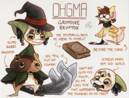 Ohgma Ref. Sheet [T] by Baraayas
