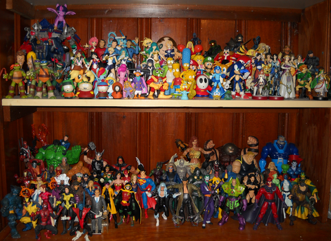Complete Displayed Figure Collection by Greyman101
