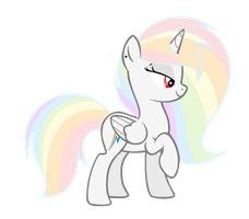 White Rainbow ( AT ) by GalaxySwirlsYT