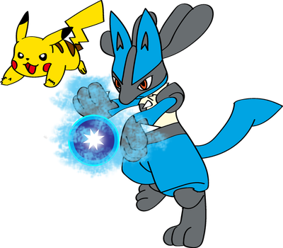 Ash Into Lucario 3 by TheSuitKeeper89