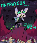 tinyraygun issue .01 - SPACE! MONSTERS! WOW! by themsjolly