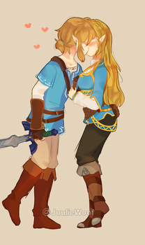 Breath of the Wil Zelink by JuulieWoof