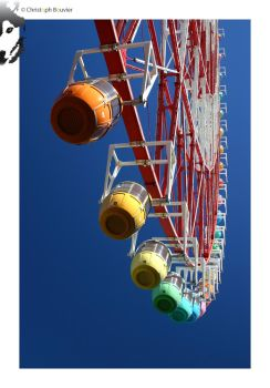 Rainbow Ferris Wheel by BottledLights