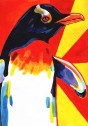 Bright Penguin by HannahLouLou13