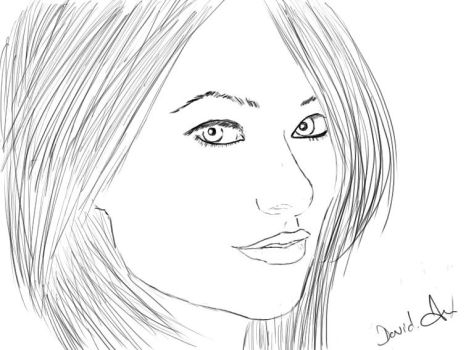 Olivia Wilde Drawing by davilo1996
