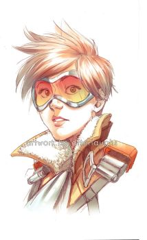 Tracer - digital x traditional by Afterlaughs