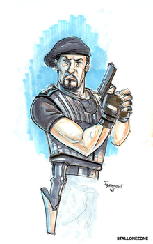 Thomas Boatwright: Expendables by CJZ