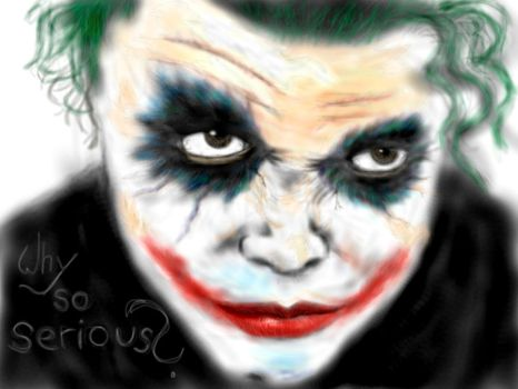 Why so serious? by M2Art