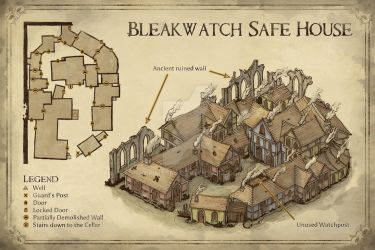 Bleakwatch Safe House by Hapimeses