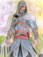 Ezio Auditore (Assassin's Creed: Revelations) by danielcamilo