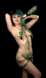 The Absinthe Fairy II by androidfink