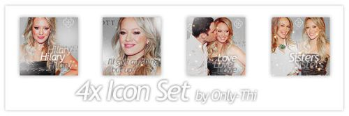 Hilary Duff - Icon Set 27 by only-thi