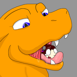 Charizard Vore by AlexTheDragongirl