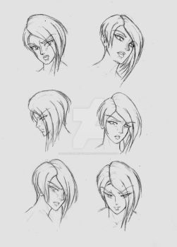 Alexis' Expression Guide by Dreyce