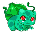 Bulbasaur by CutePastelStars