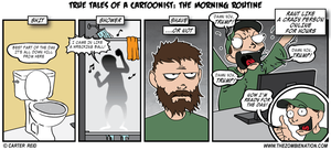 The Morning Routine by zombiecarter