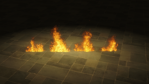Fire (version 1) for XNALara/XPS by dasliebesverbot