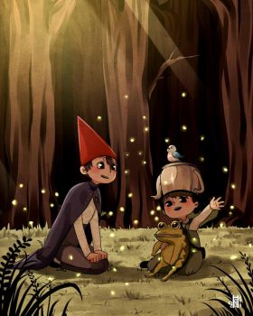 Over the Garden Wall fanart by Houry-Hou