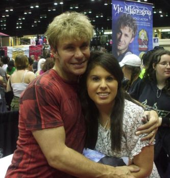 Vic Mignogna And I by 4ever-artist