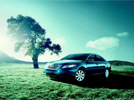 2007 Toyota Camry by ROGUE-RATTLESNAKE