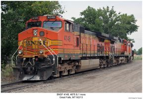 BNSF 4148, 4675 + 1 more by hunter1828