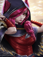 Xayah by Emi-images