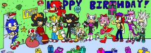 Sonic's 19th Birthday Surprise by Sonic-Toad