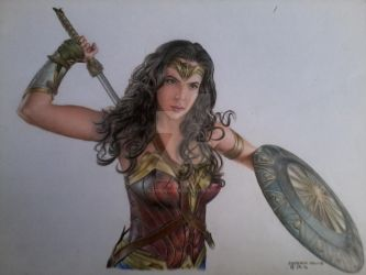 Champion of the Amazons by bLo0dheaven