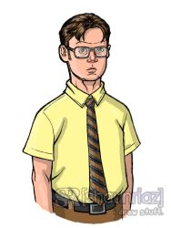 Dwight K Schrute by shaunriaz