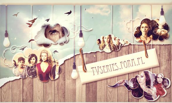 TV series in clouds by ultraVioletSoul