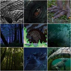 Reptile Monster Aesthetic (F2U) by Kiryu2012