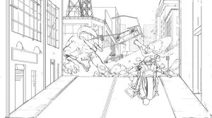 Monster Hunters WIP2 by NavyBlueManga