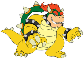 Bowser Koopa by RetroUniverseArt