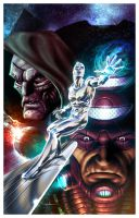 Silver Surfer by CValenzuela