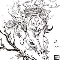 Amaterasu Ink by anireal